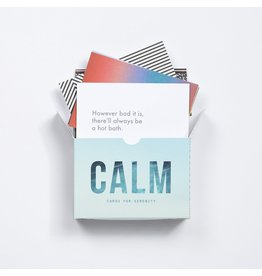 "School of Life ""Calm"" Pocket Prompt Cards"