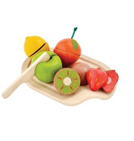 Plan Toys Wooden Fruit Play Set