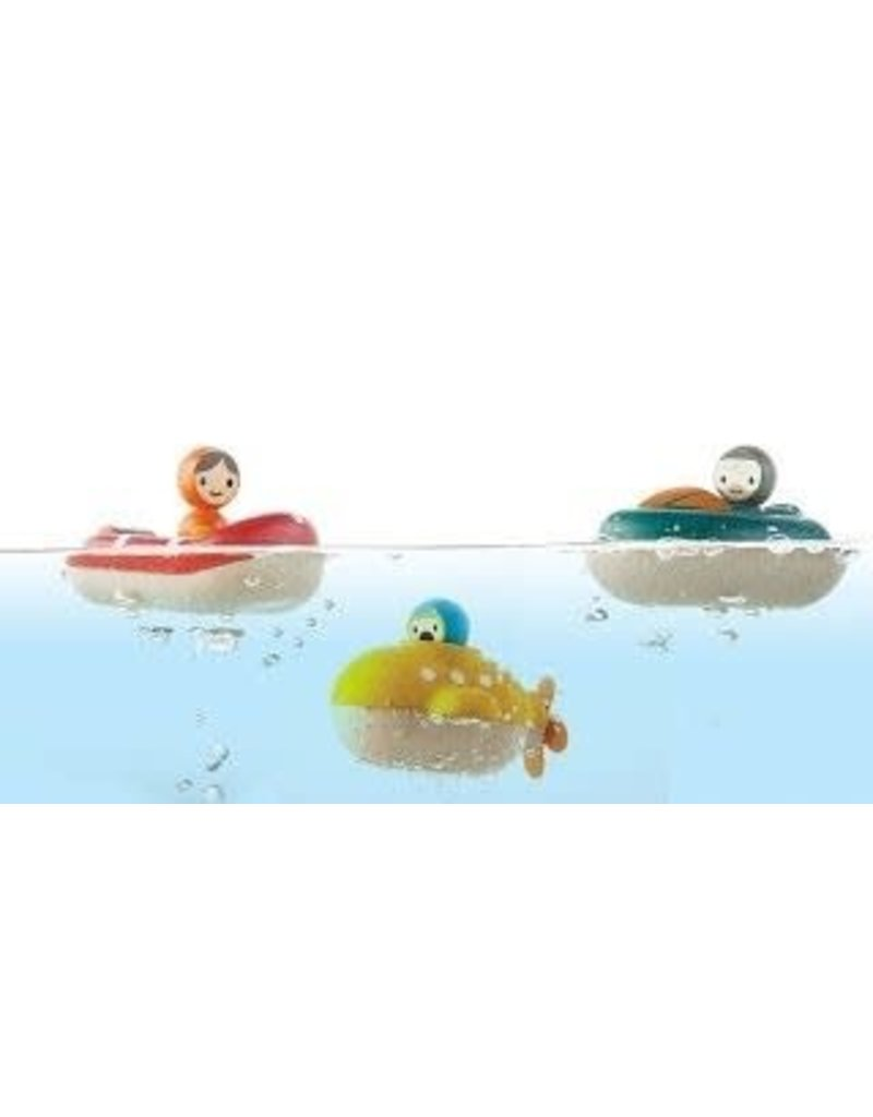 Plan Toys Yellow Submarine
