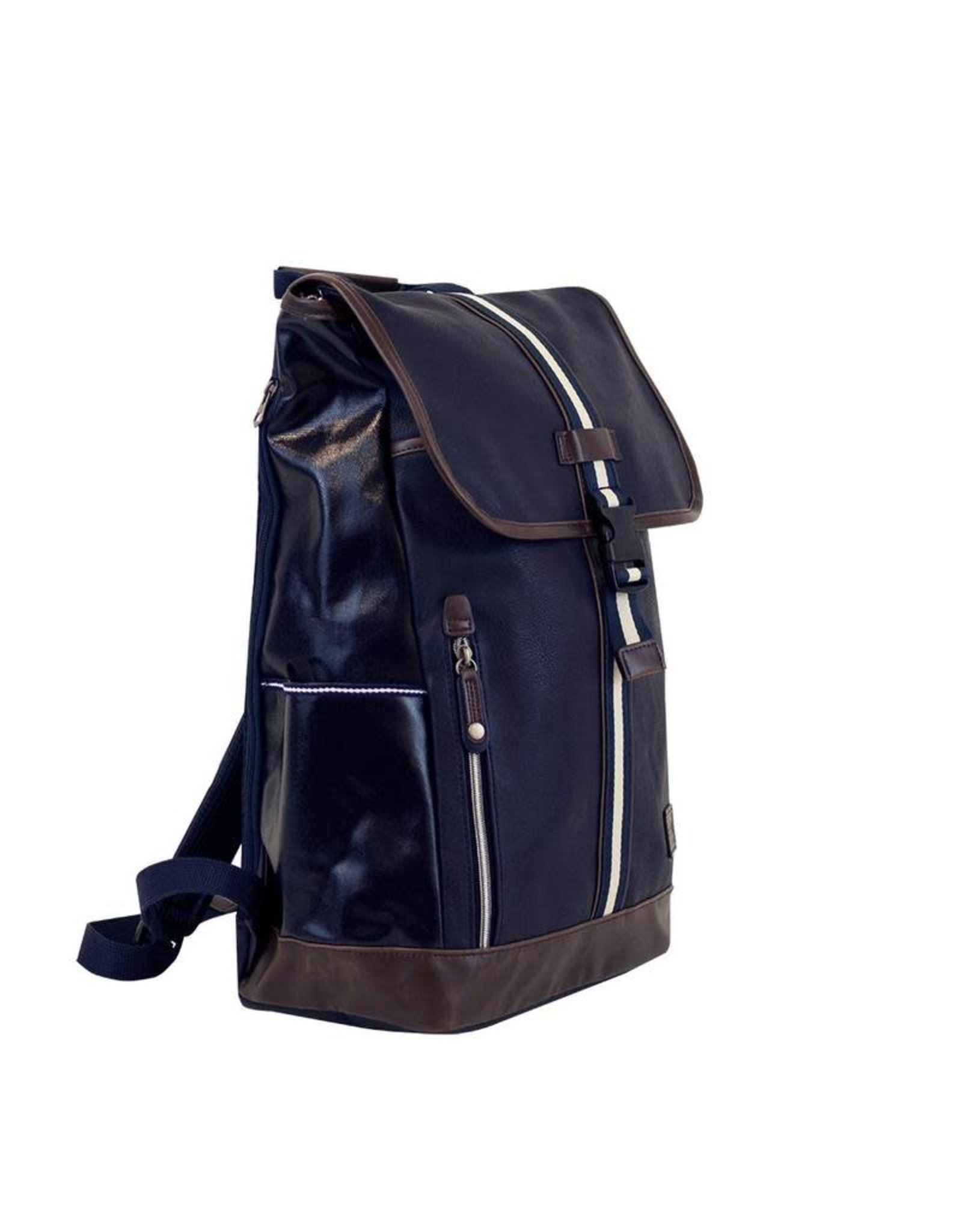 Molla Space Portsman Flaptop Backpack in Navy
