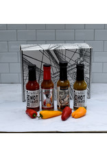 Exit9 Gift Emporium Hot Sauce 4 Alarm.  A giveback product!