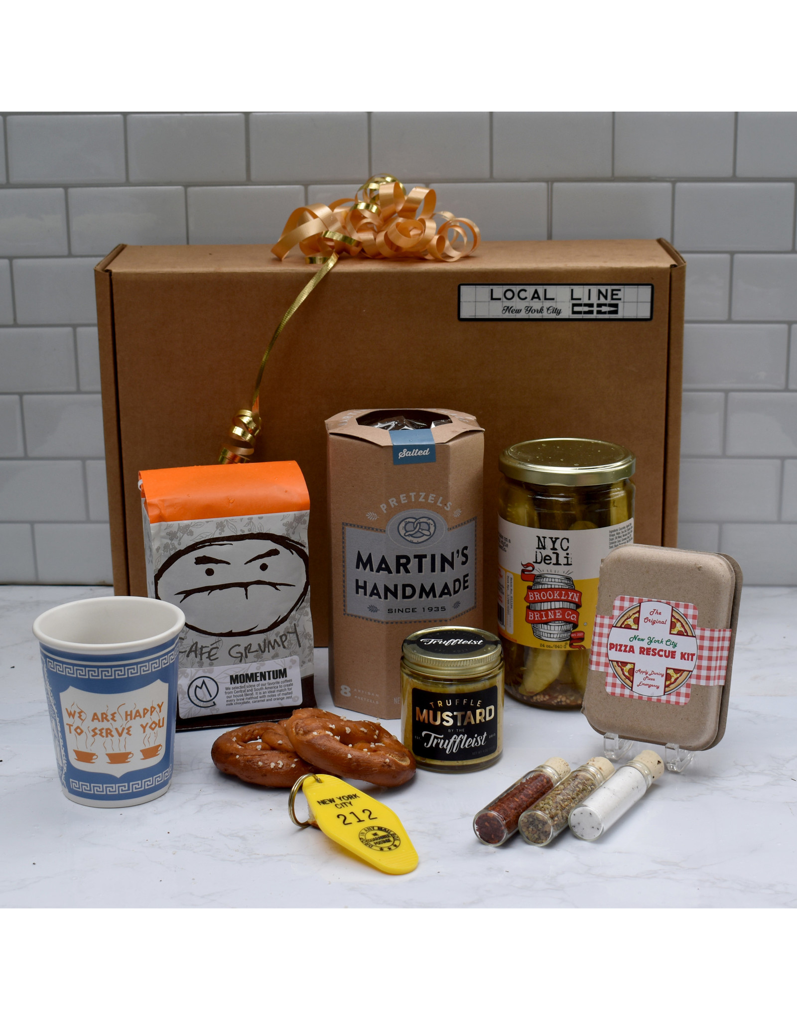 Exit9 Gift Emporium NYC Themed Gift Box