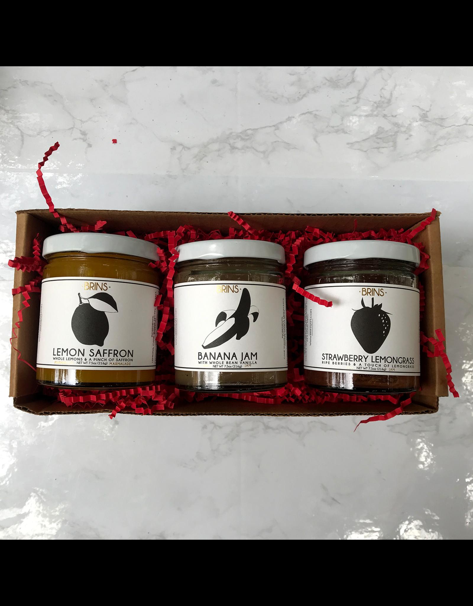 Exit9 Gift Emporium Brins Jam Trio Box