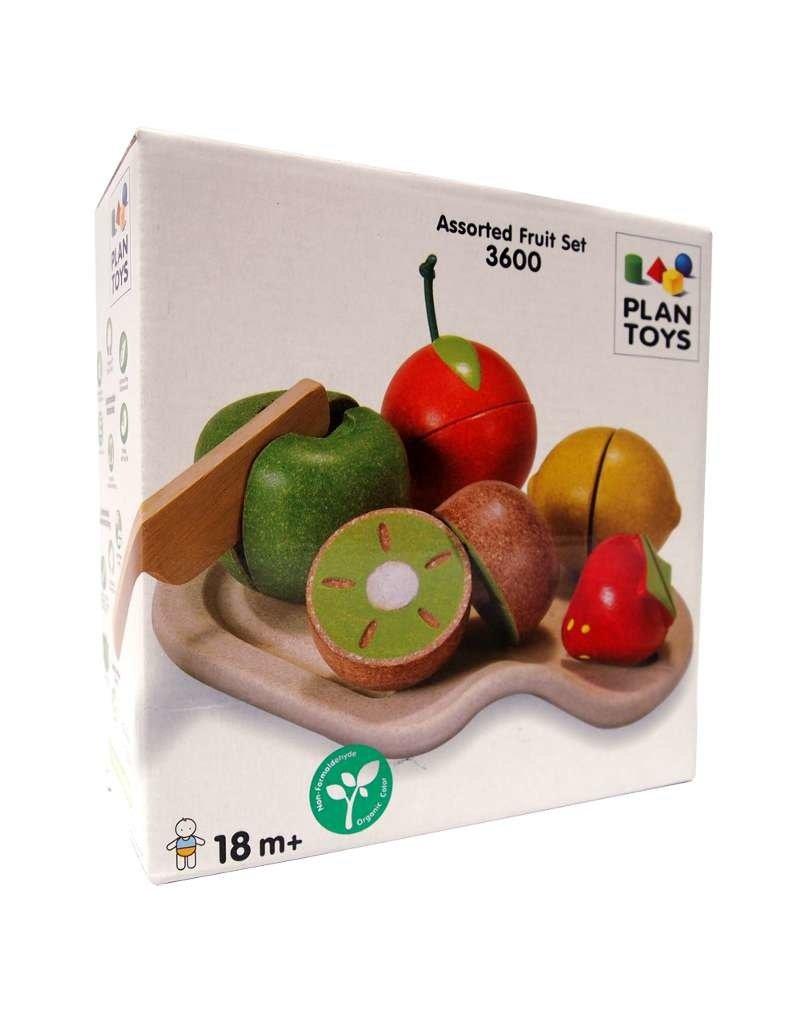 Plan Toys Wooden Fruit Play Set