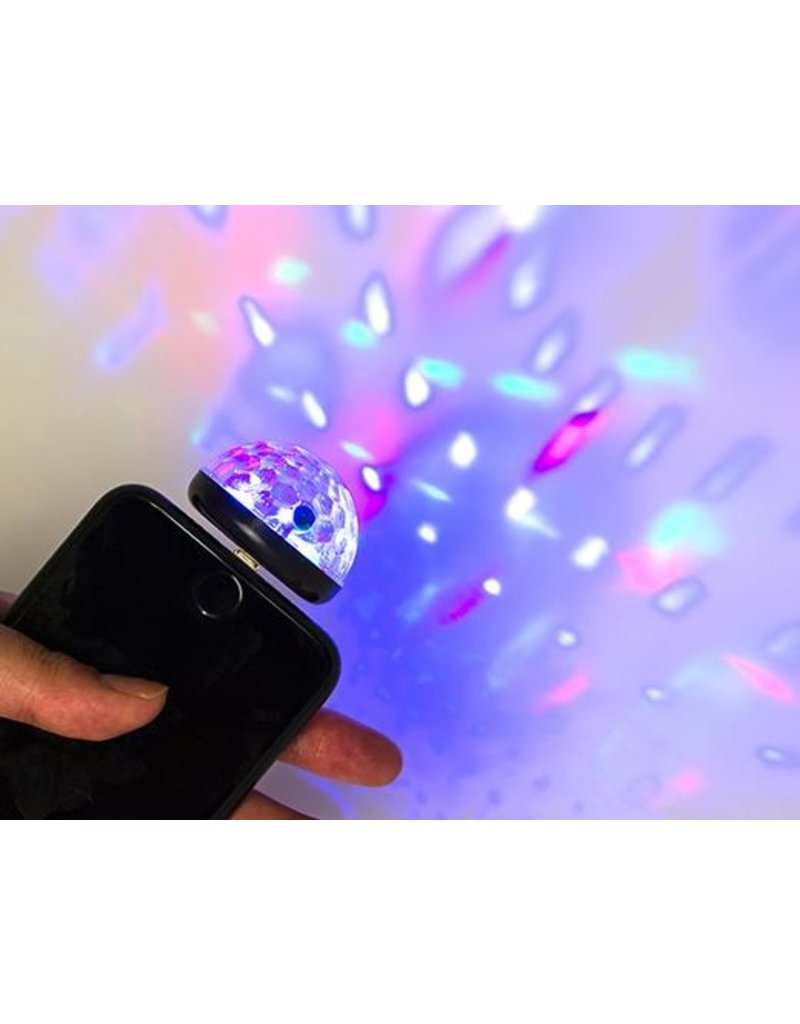 Kikkerland iPhone Disco Light