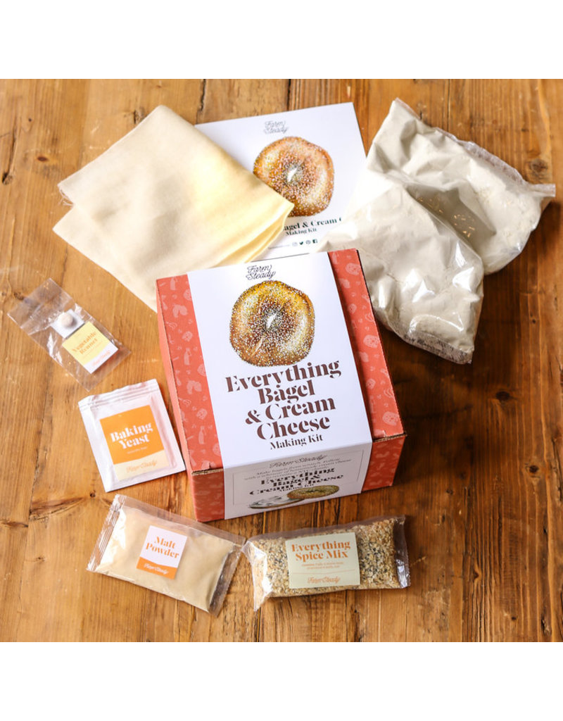 Farm Steady Everything Bagel & Cream Cheese Kit