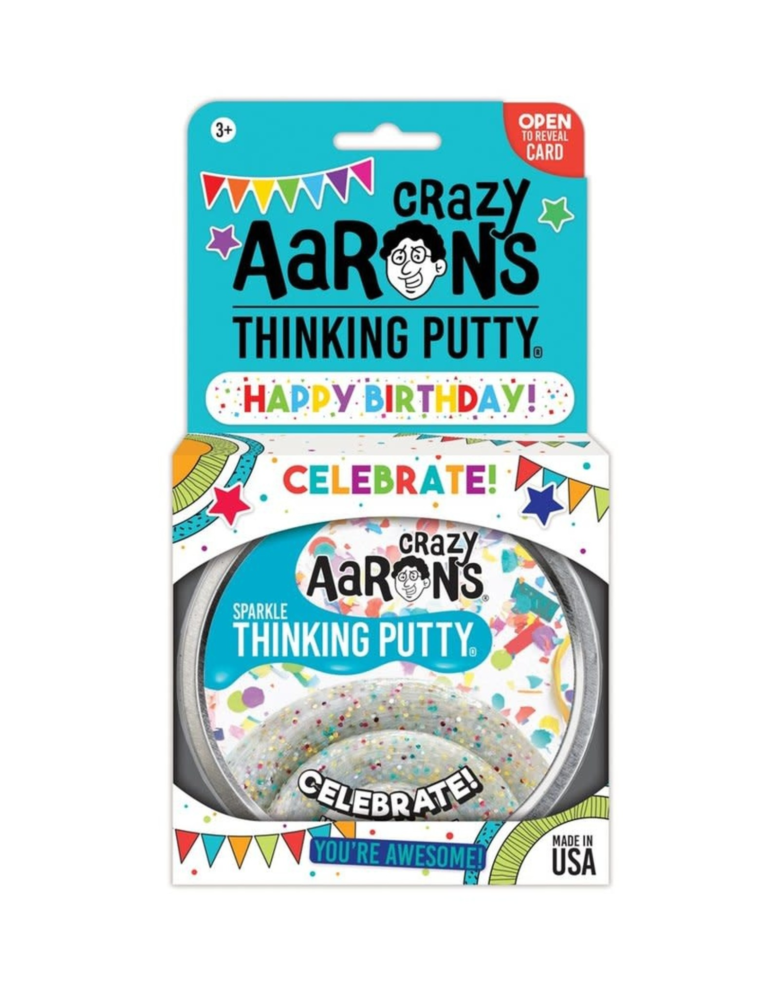Crazy Aaron's Crazy Aaron's Celebrate! Thinking Putty