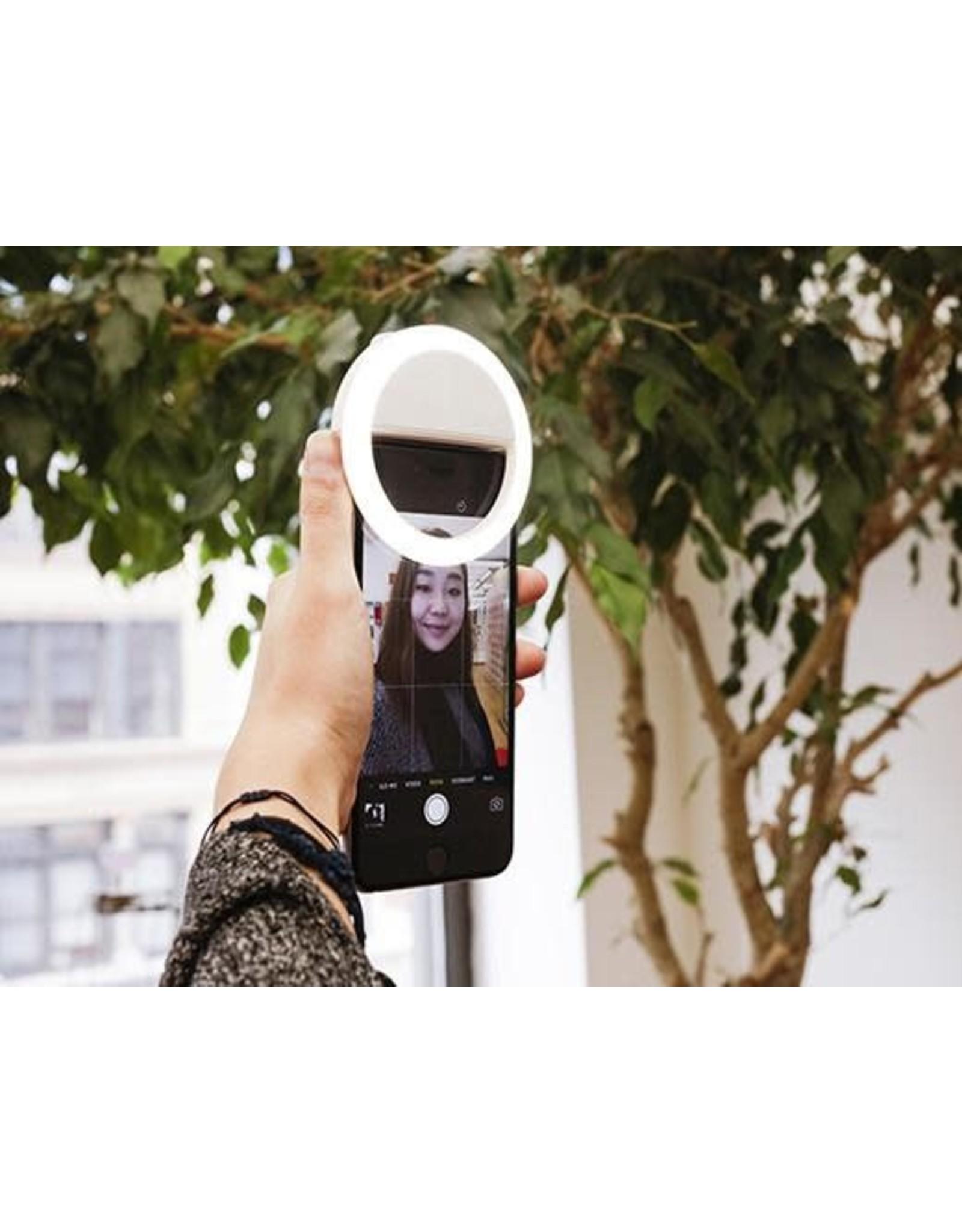 Kikkerland Ultra Bright Selfie Light