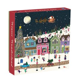Chronicle Books 500 Piece Puzzle Winter Wonderland