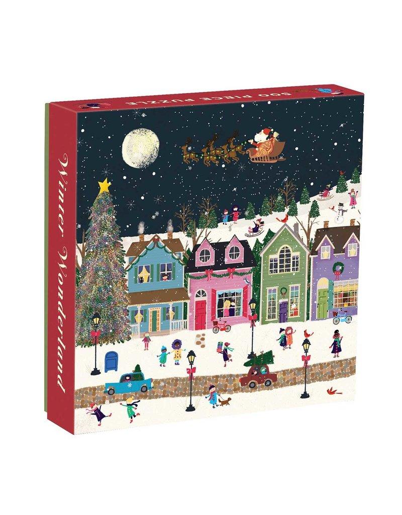 Chronicle Books 500 Piece Puzzle Winter Wonderland