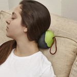 Kikkerland Memory Foam Neck Pillow