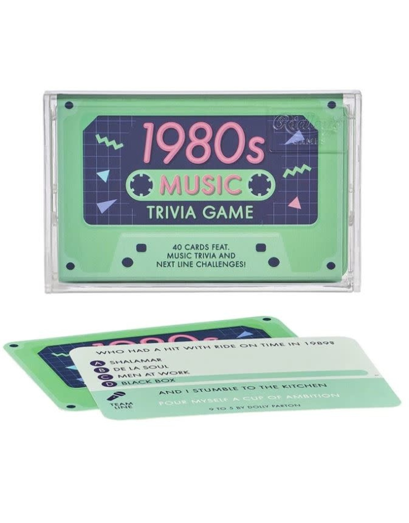 Ridley's 1980s Music Trivia Game