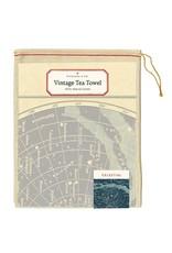 Cavallini Celestial Tea Towel