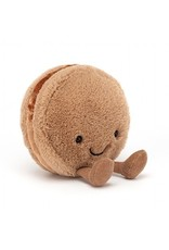 Jellycat Chocolate Macaron Plush