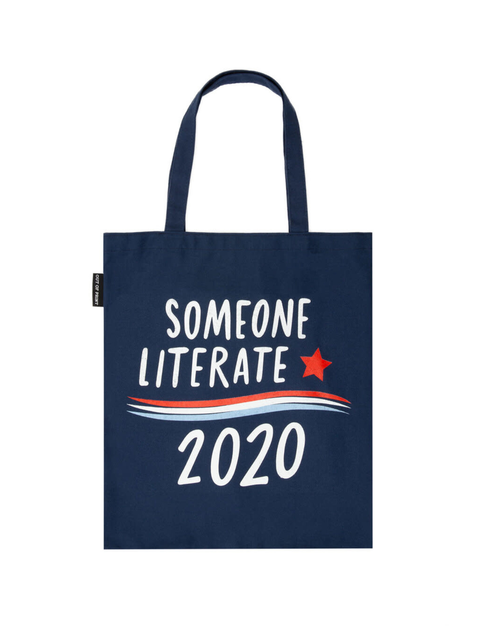 """Out Of Print """"Someone Literate 2020"""" Tote"""