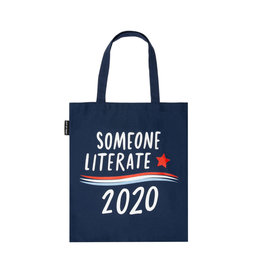 "Out Of Print ""Someone Literate 2020"" Tote"