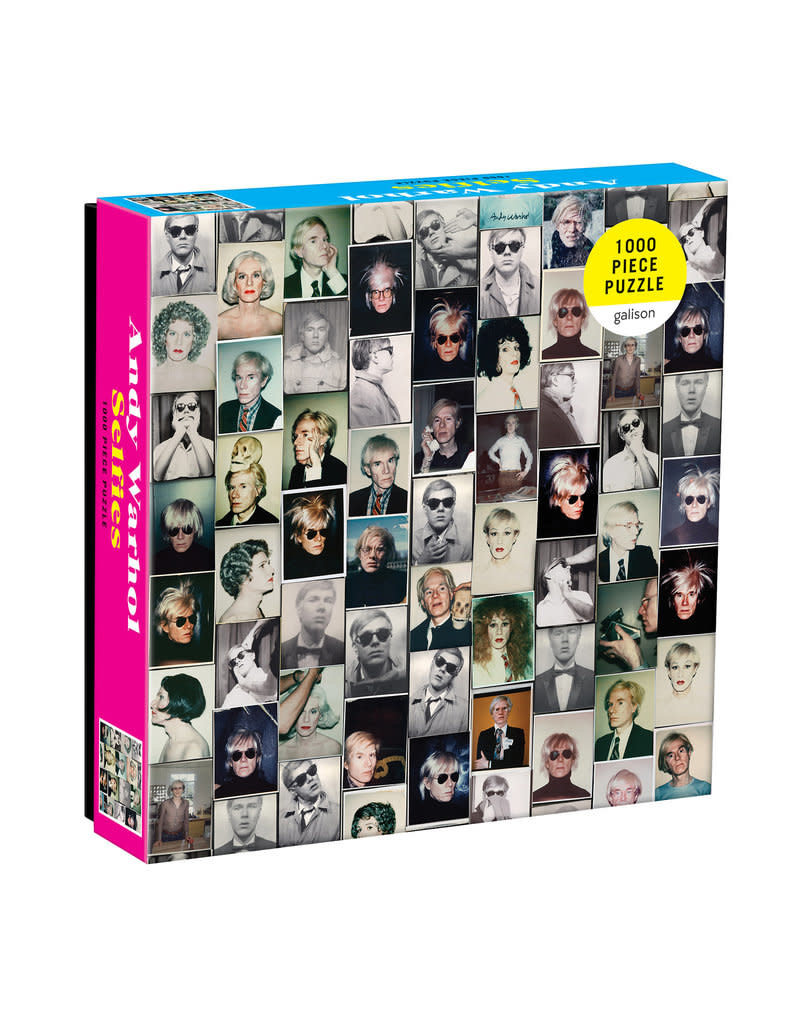 Chronicle Books Andy Warhol Selfies Puzzle