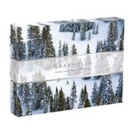 Chronicle Books Snow Ski Two-Sided Puzzle