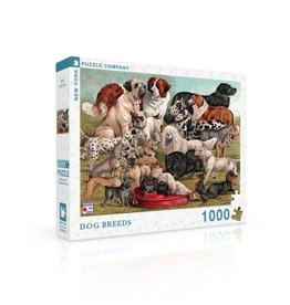 New York Puzzle Company Dog Breeds Puzzle