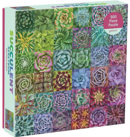 Chronicle Books Succulent Spectrum Puzzle