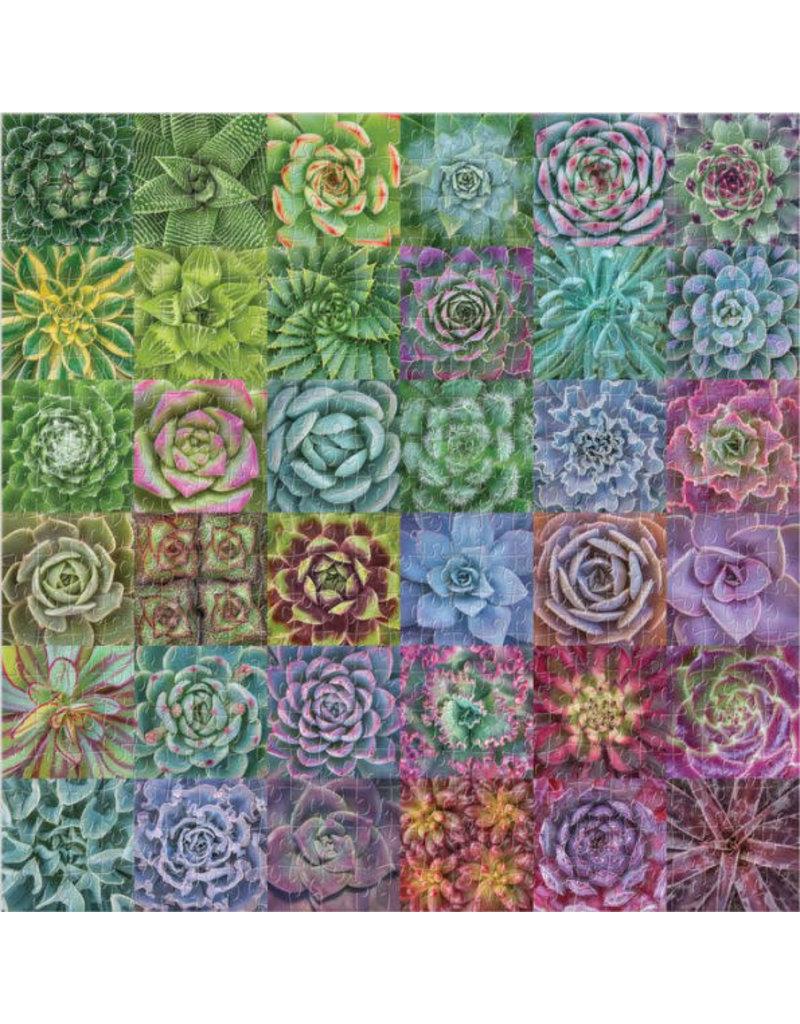 Chronicle Books Succulent Spectrum Puzzle