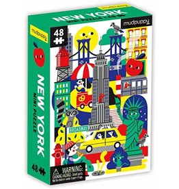 mudpuppy Mini New York City Puzzle
