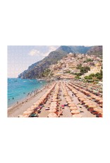 Chronicle Books Italian Beach Two-Sided Puzzle