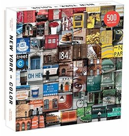Chronicle Books New York in Color Puzzle