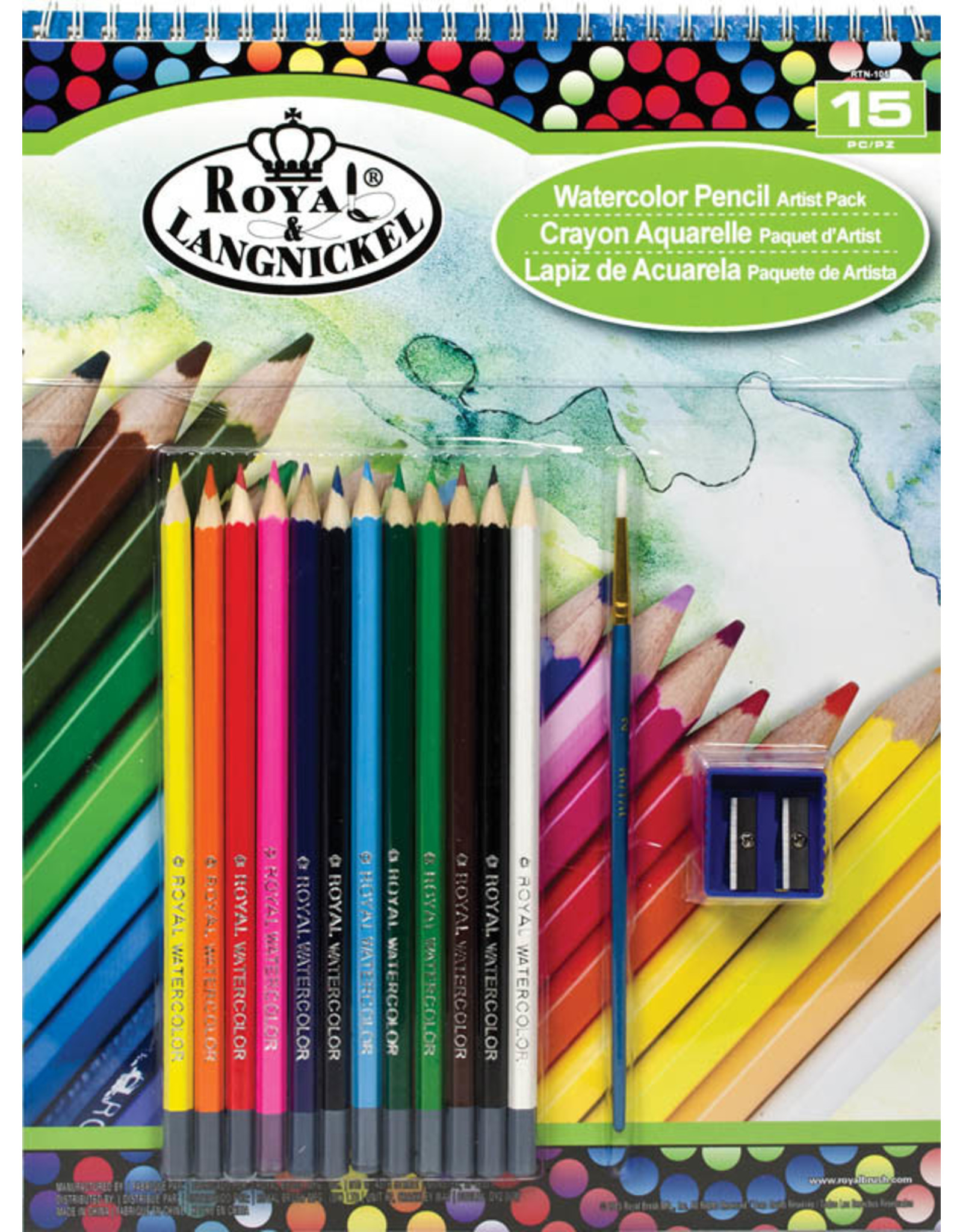 Royal & Langnickel Watercolor Pencil Artist Pack