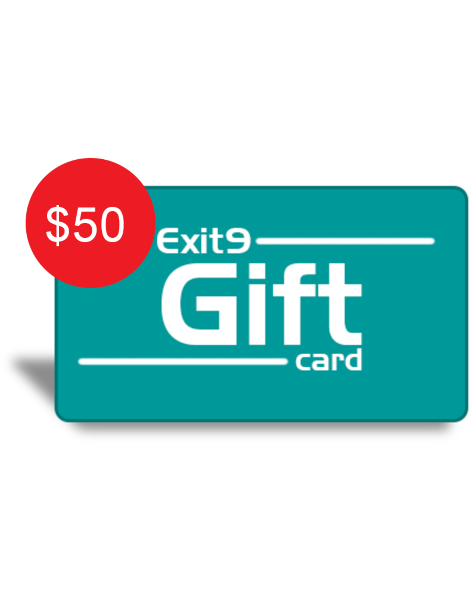Exit9 Gift Card $50