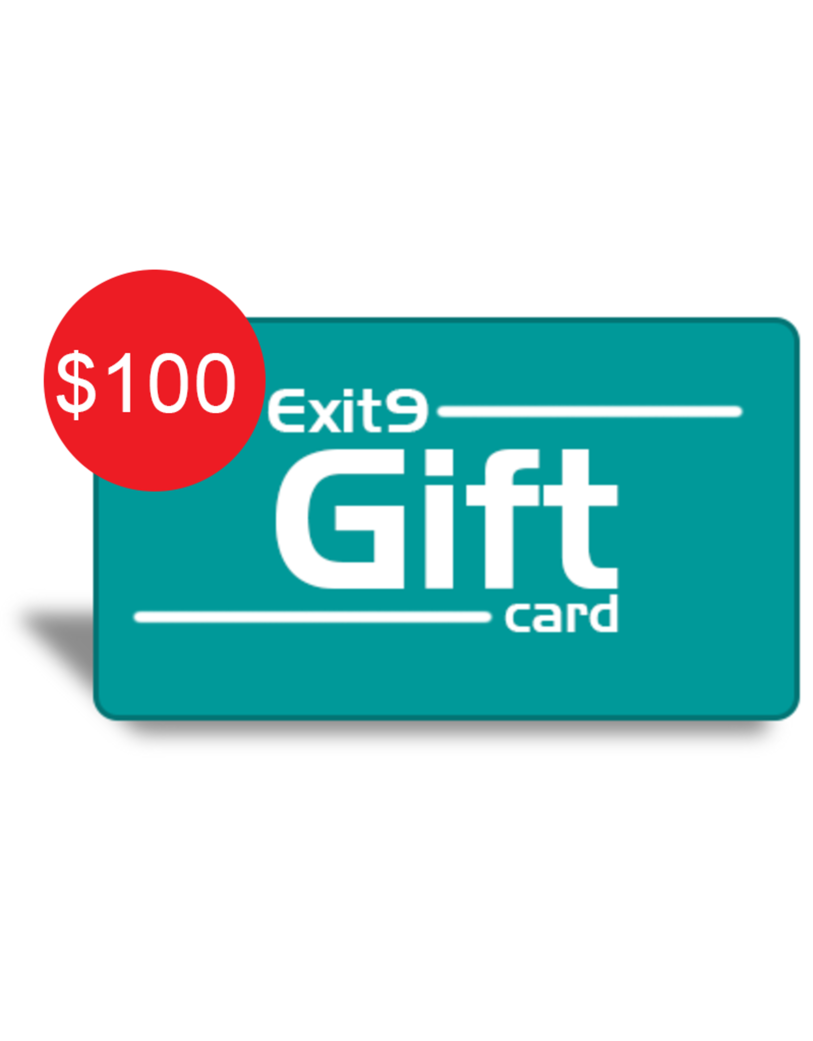 Exit9 Gift Card $100