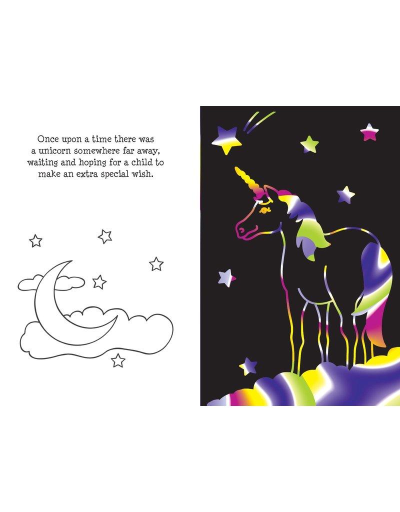 Peter Pauper Press Scratch & Sketch Unicorn Activity Book