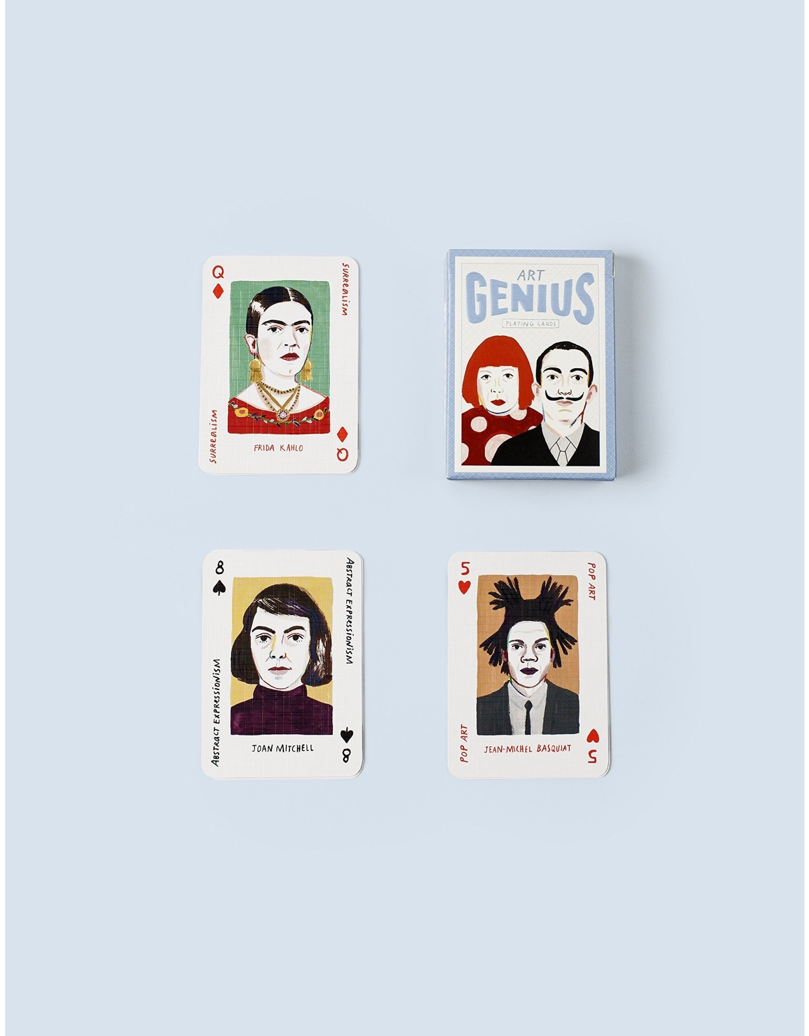 Chronicle Books Art Genius Playing Cards