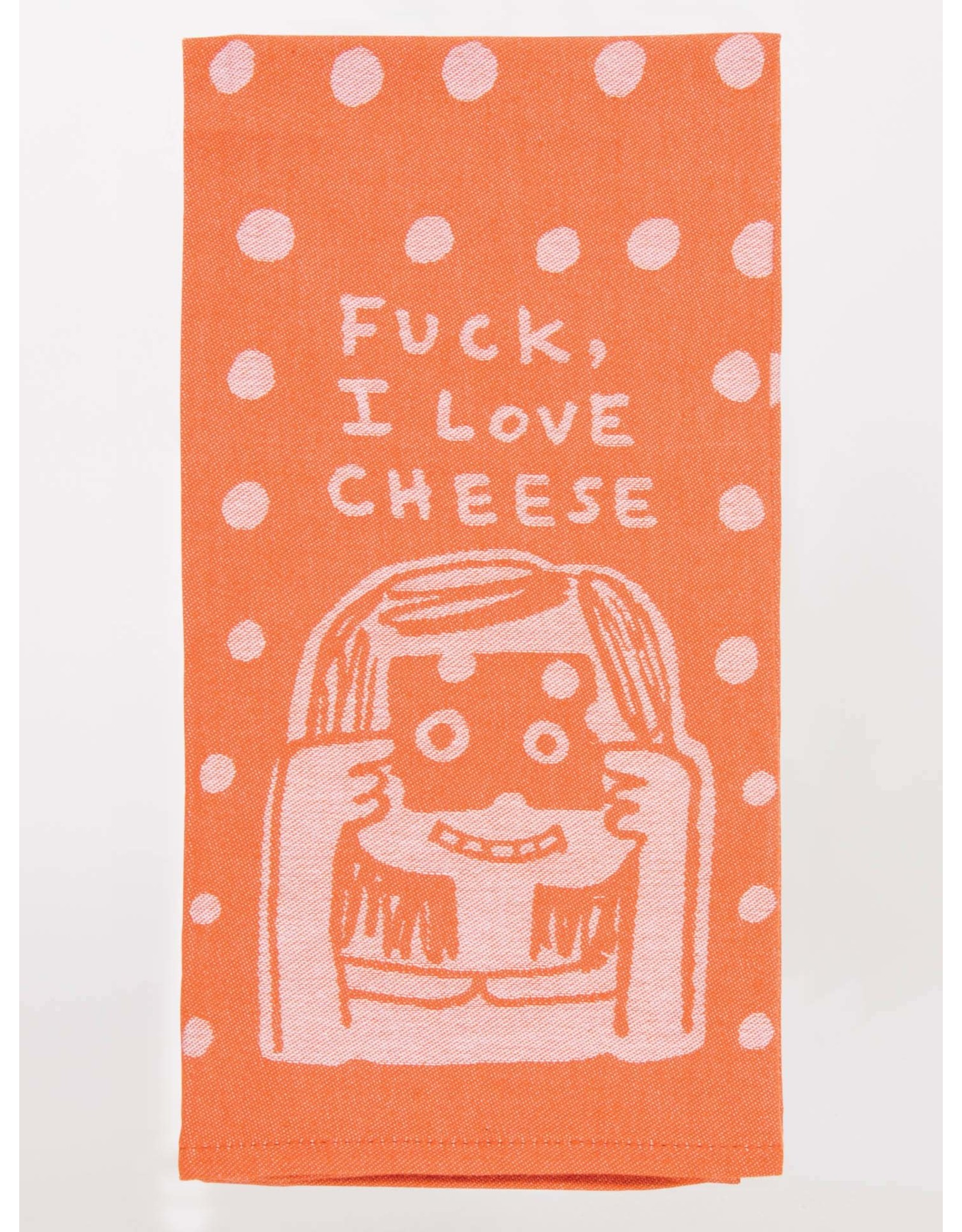 Blue Q F*ck, I Love Cheese Dish Towel