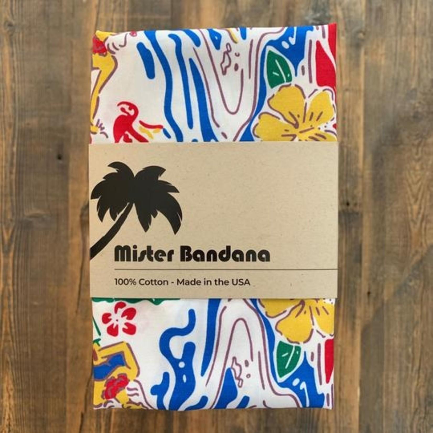Mister Bandana Aloha Printed Bandana