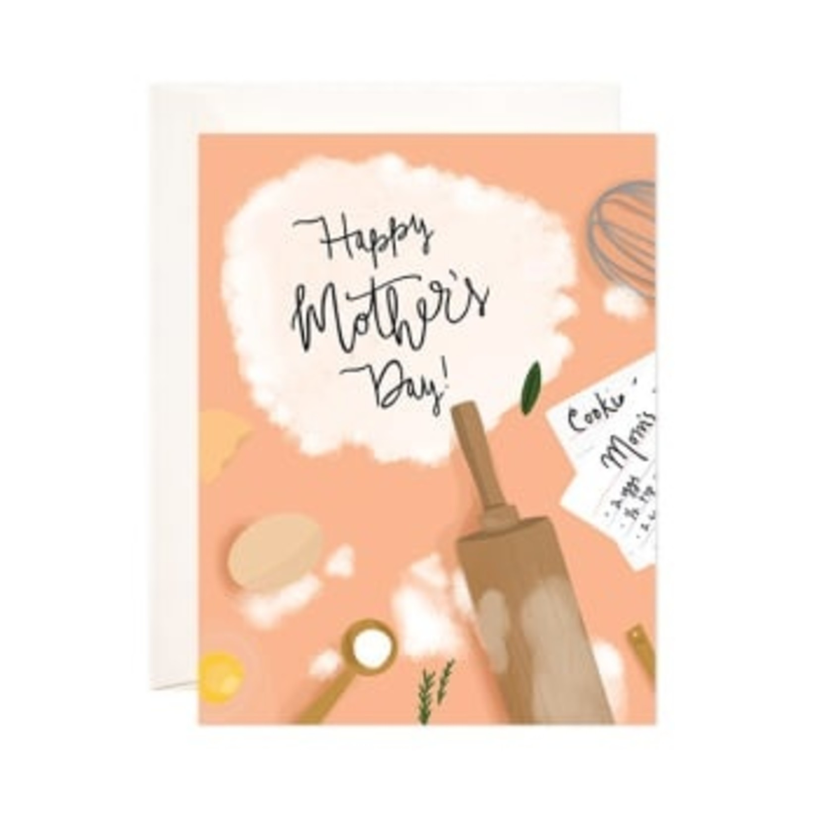 """""""Rolling Pin"""" Mother's Day Card"""