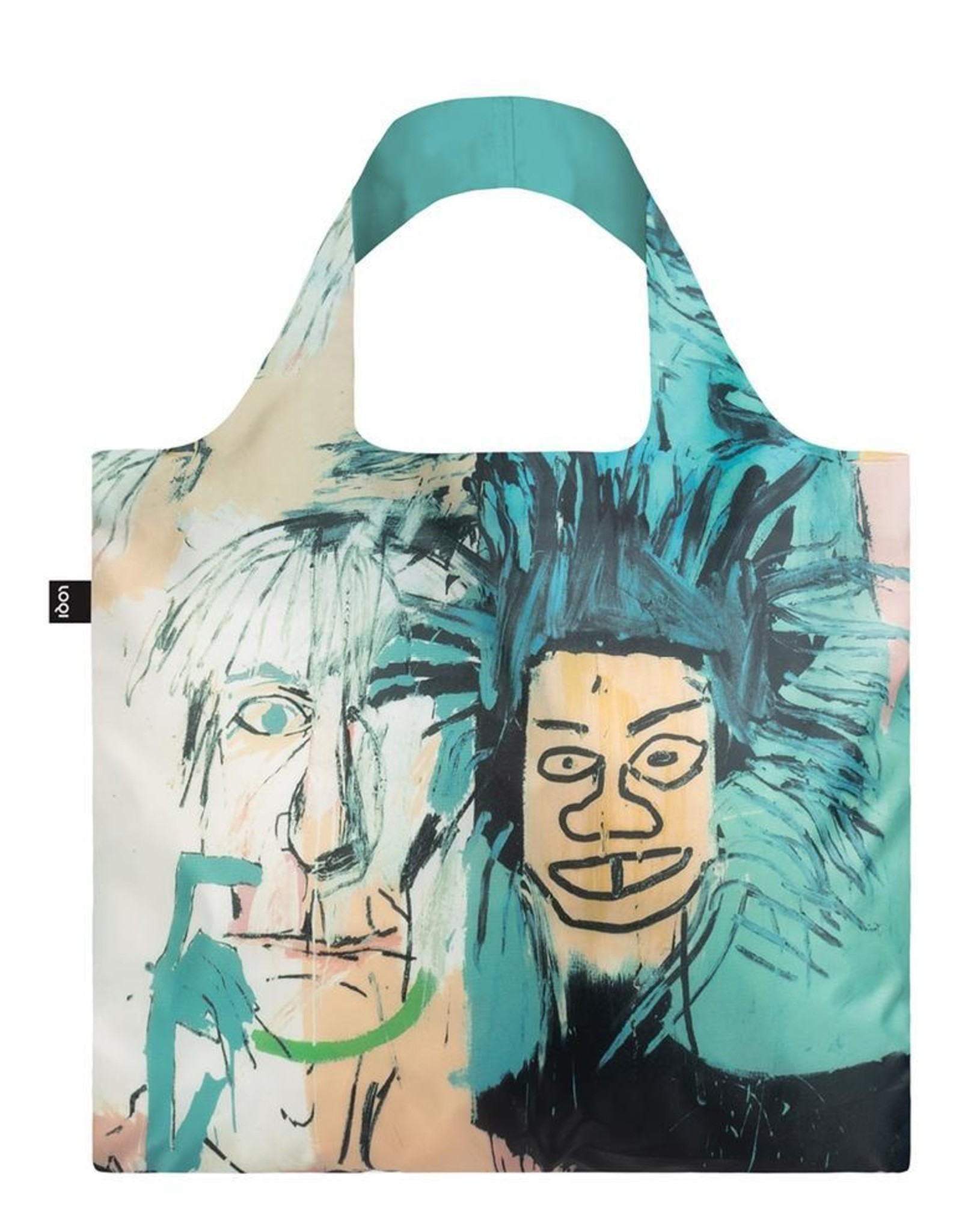 Loqi Reusable Bag - Basquait Warhol