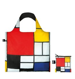 Loqi Reusable Bag - Piet Mondrian