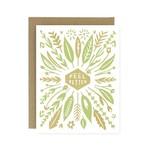 Sympathy Card: Feel Better Leaves