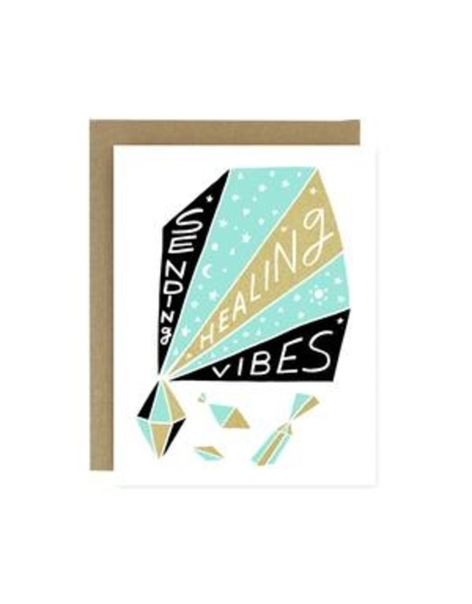 Sympathy Card: Healing Vibes