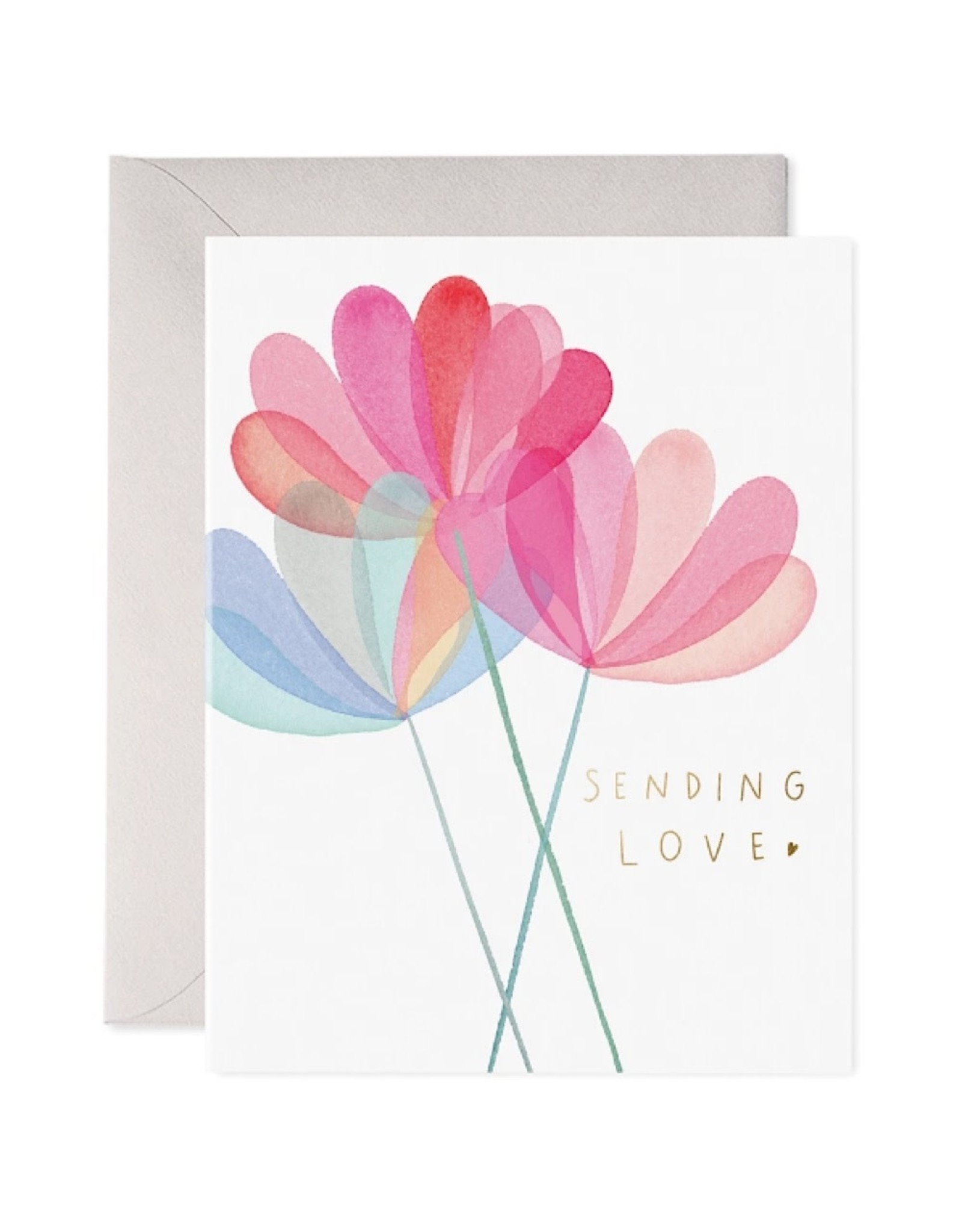 Love/Friend Card: Sending Love