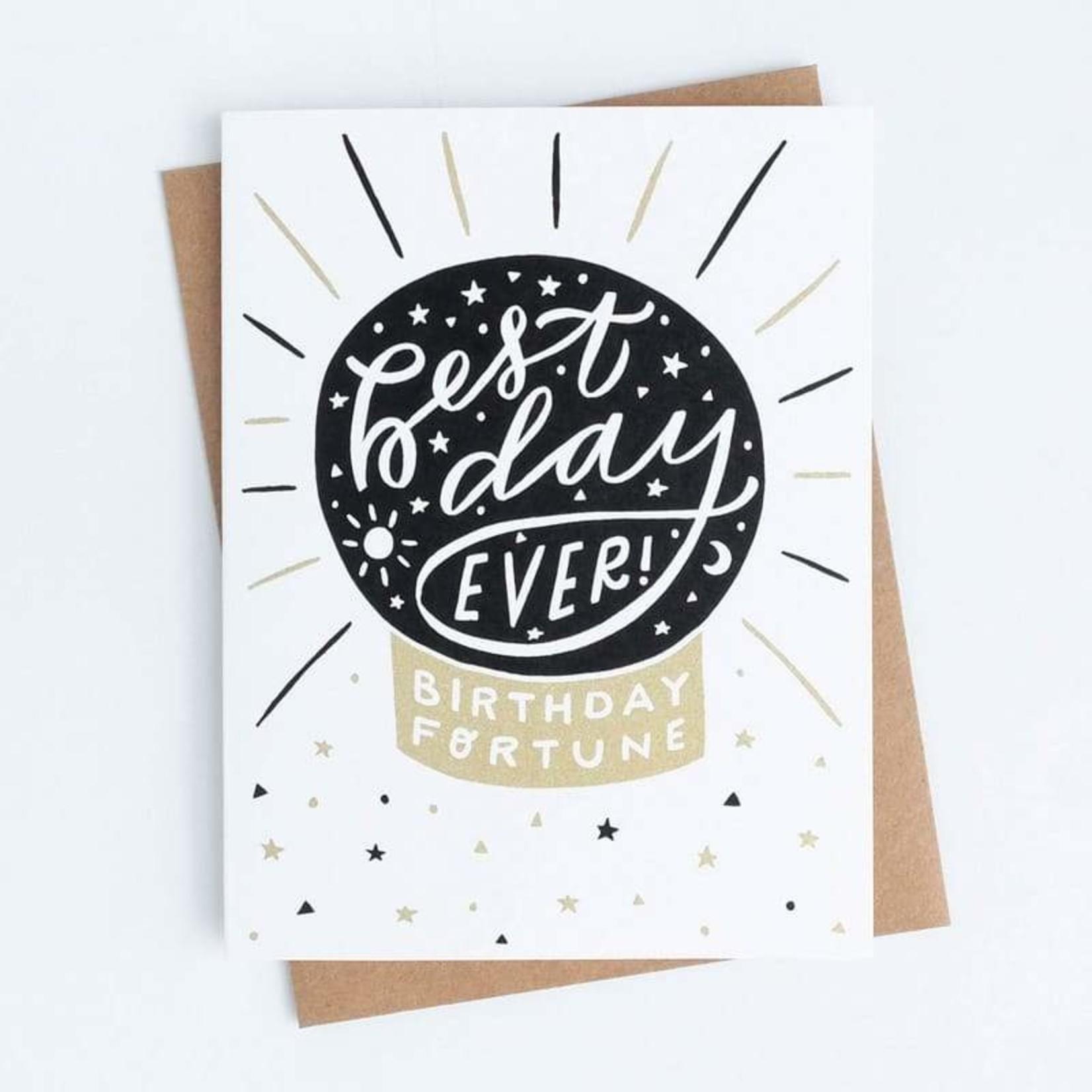 Birthday Card: Best Day Ever!