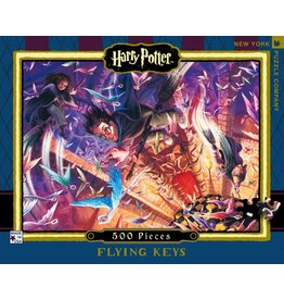 New York Puzzle Company Harry Potter Flying Keys Puzzle