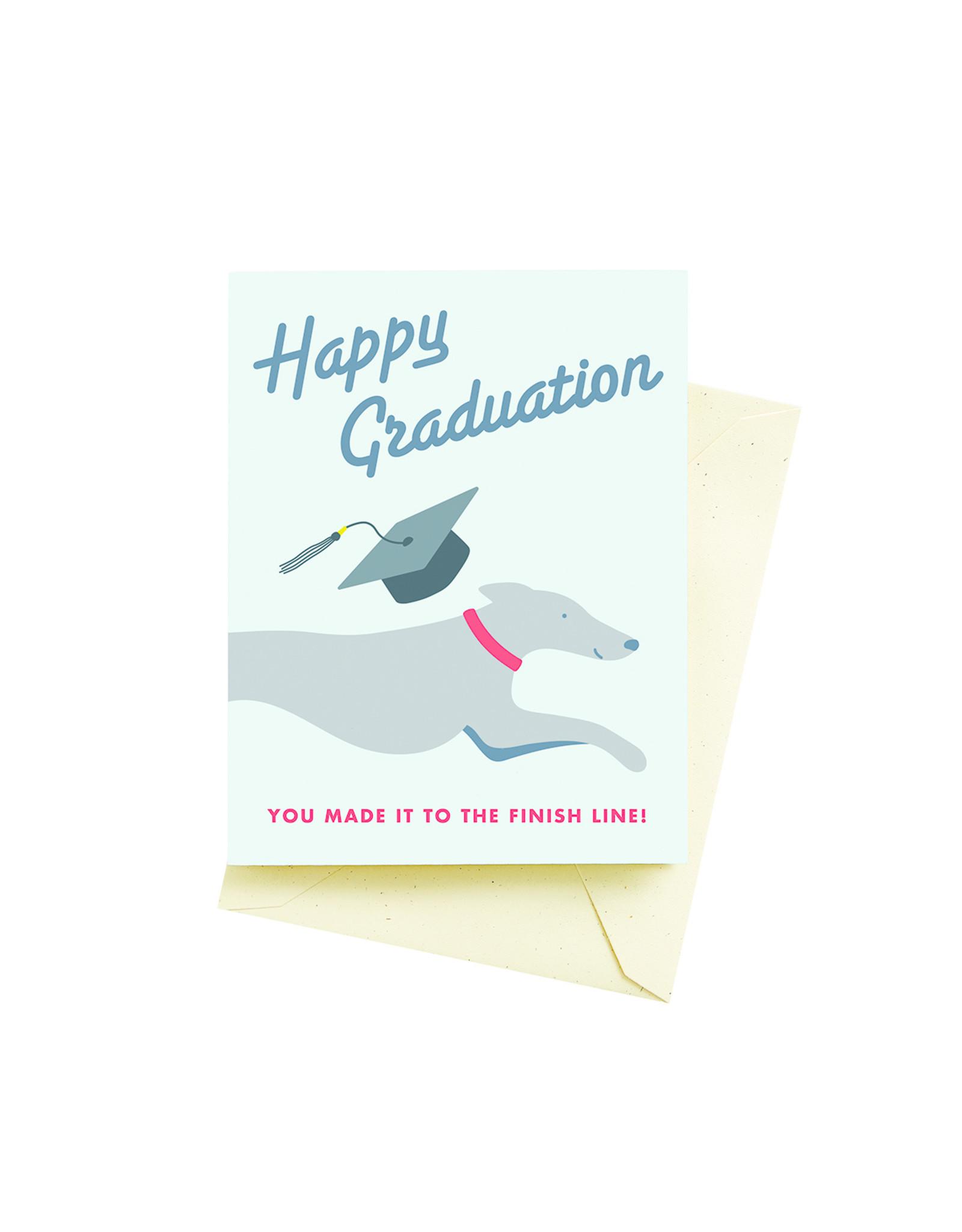 Graduation Card: Made the Finish!