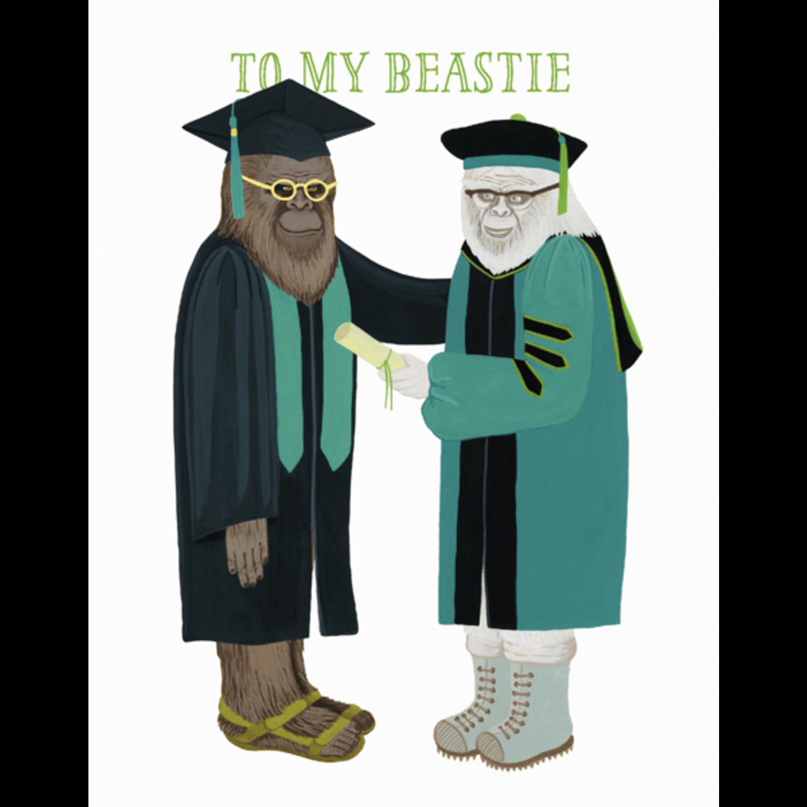 Graduation Card: To My Beastie!