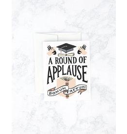 Graduation Card: Round of Applause