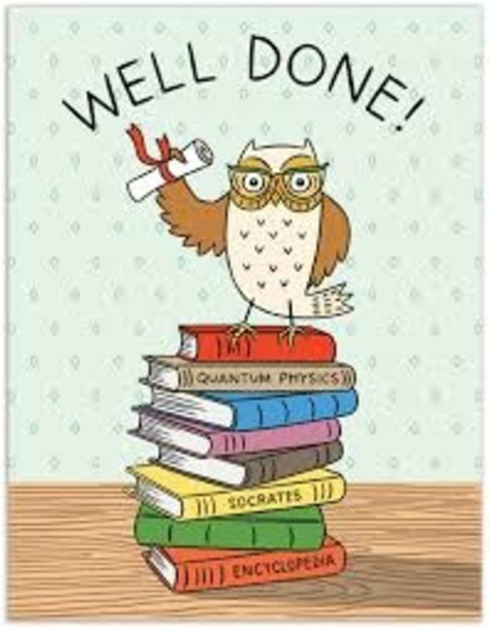 Graduation Card: Well Done!