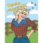 Thank You Card: You're a Doll!