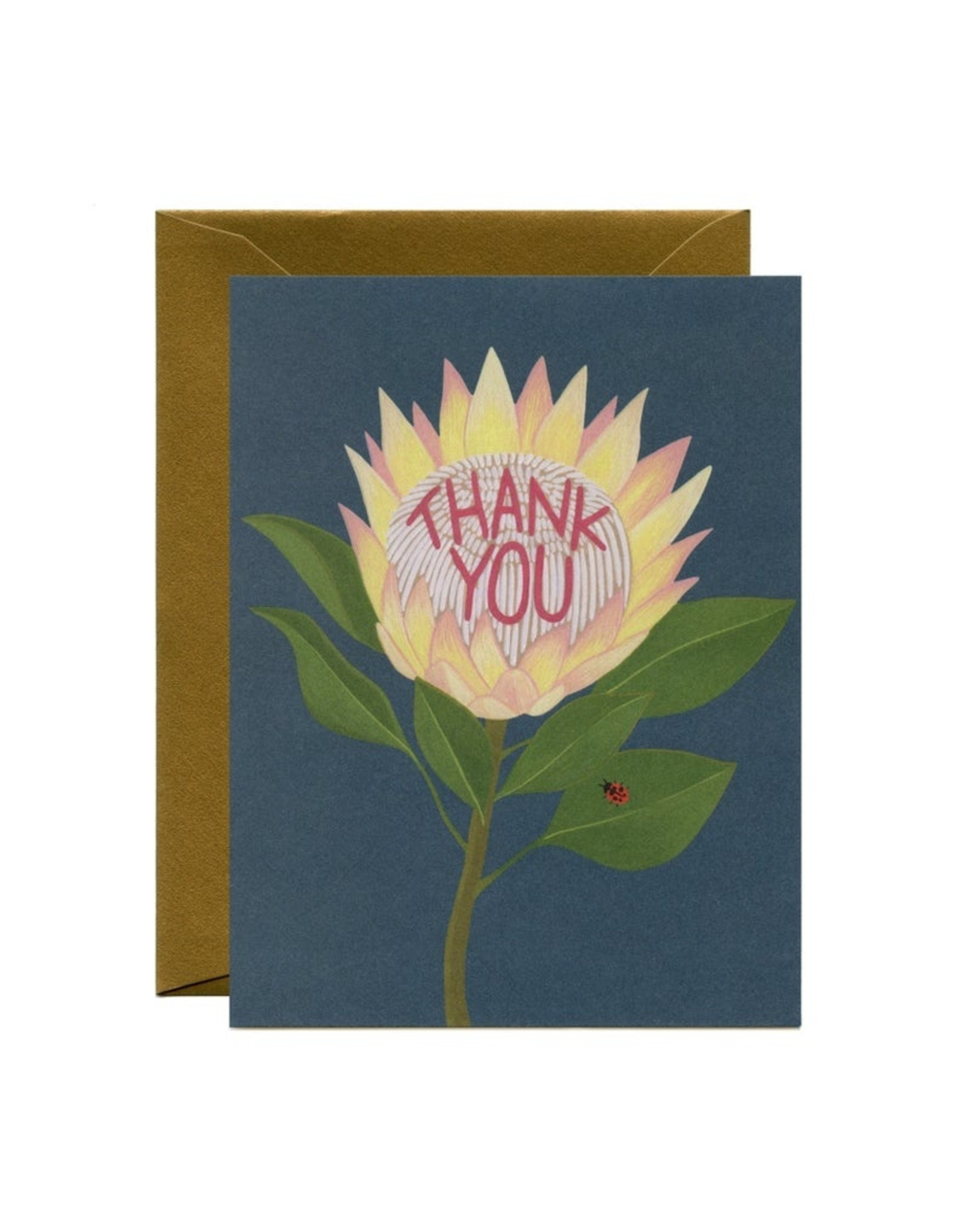 Thank You Card: Sunflower