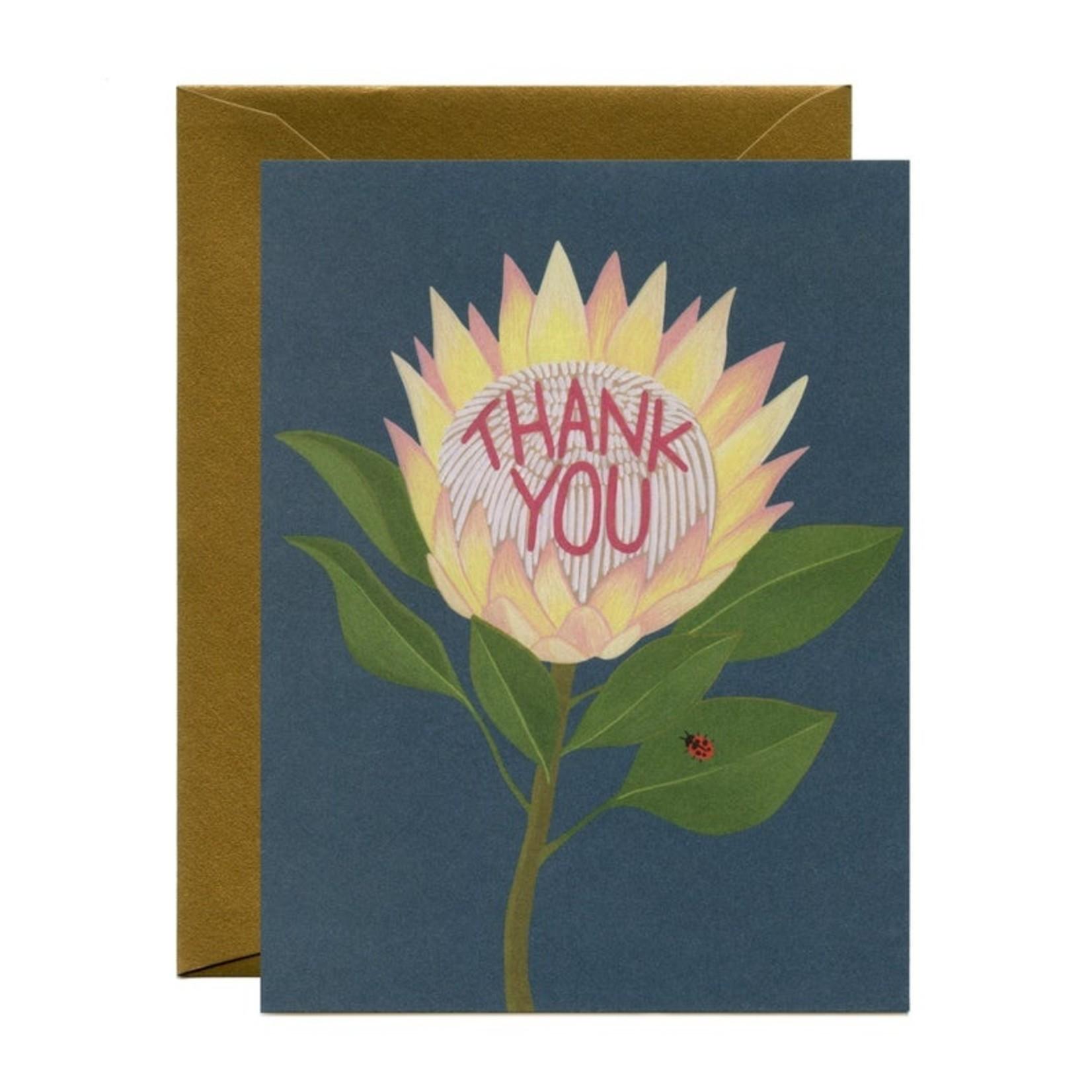 Thank You Card: Sunflower